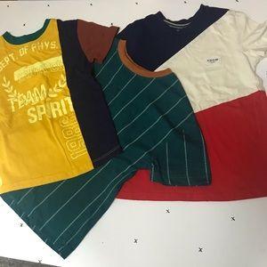 XS 4/5 kids bundle of three tees Art Class